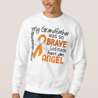 Angel 2 Grandfather Leukemia Sweatshirt