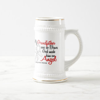 Angel 2 Grandfather Lung Cancer Mugs
