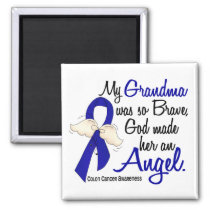 Angel 2 Grandma Colon Cancer Magnet