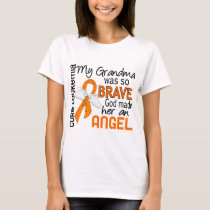 Angel 2 Grandma Leukemia T-Shirt