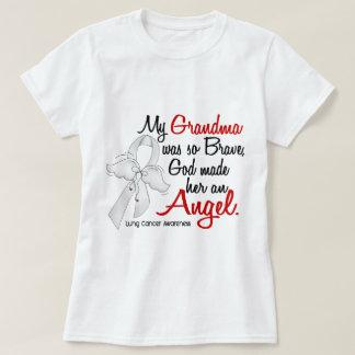 Angel 2 Grandma Lung Cancer T-Shirt