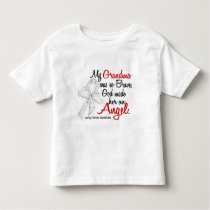 Angel 2 Grandma Lung Cancer Toddler T-shirt