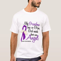 Angel 2 Grandma Pancreatic Cancer T-Shirt