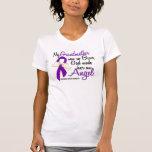 Angel 2 Grandmother Pancreatic Cancer T Shirt