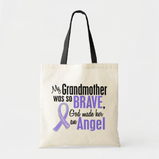 Angel 2 Grandmother Stomach Cancer Tote Bag