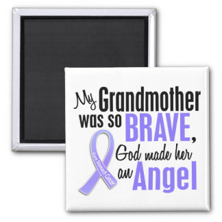 Angel 2 Grandmother Stomach Cancer Magnets