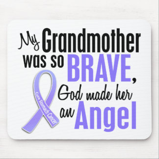 Angel 2 Grandmother Stomach Cancer Mouse Pad