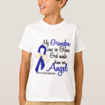 Angel 2 Grandpa Colon Cancer T-Shirt
