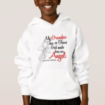 Angel 2 Grandpa Lung Cancer Hoodie