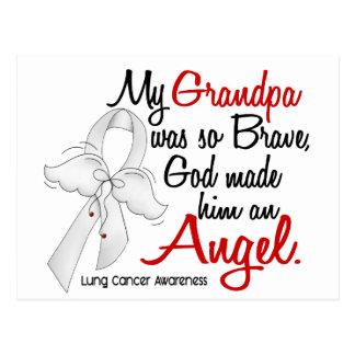 Angel 2 Grandpa Lung Cancer Postcard