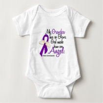 Angel 2 Grandpa Pancreatic Cancer Baby Bodysuit