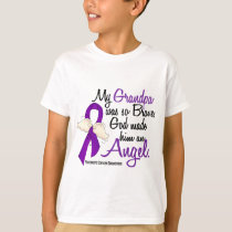 Angel 2 Grandpa Pancreatic Cancer T-Shirt