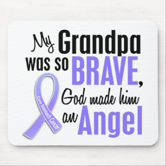 Angel 2 Grandpa Stomach Cancer Mouse Pad