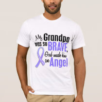Angel 2 Grandpa Stomach Cancer T-Shirt