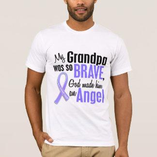 Angel 2 Grandpa Stomach Cancer T-Shirt