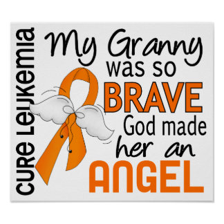 Angel 2 Granny Leukemia Print