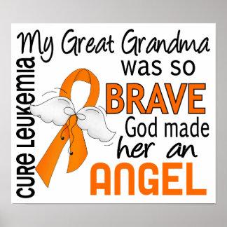 Angel 2 Great Grandma Leukemia Posters