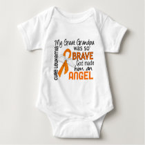 Angel 2 Great Grandpa Leukemia Baby Bodysuit