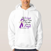 Angel 2 Husband Pancreatic Cancer Hoodie