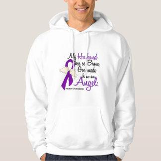 Angel 2 Husband Pancreatic Cancer Hoodie