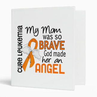 Angel 2 Mom Leukemia Binder
