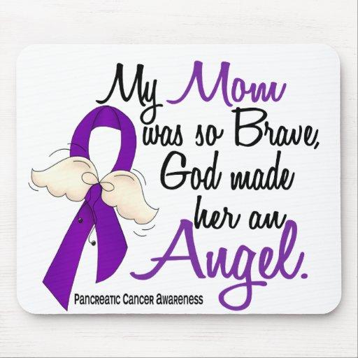 Angel 2 Mom Pancreatic Cancer Mouse Pad
