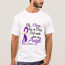 Angel 2 Mom Pancreatic Cancer T-Shirt