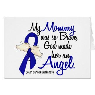 Angel 2 Mommy Colon Cancer Card