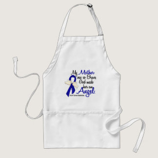Angel 2 Mother Colon Cancer Adult Apron