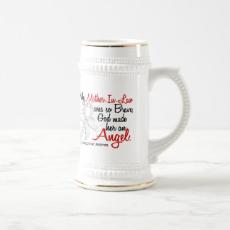 Angel 2 Mother-In-Law Lung Cancer Coffee Mug