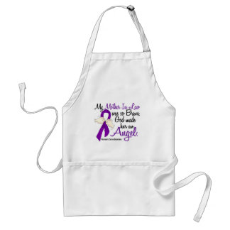 Angel 2 Mother-In-Law Pancreatic Cancer Aprons