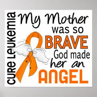 Angel 2 Mother Leukemia Print
