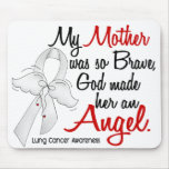 Angel 2 Mother Lung Cancer Mousepad
