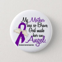 Angel 2 Mother Pancreatic Cancer Button