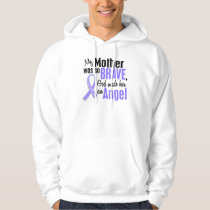 Angel 2 Mother Stomach Cancer Hoodie