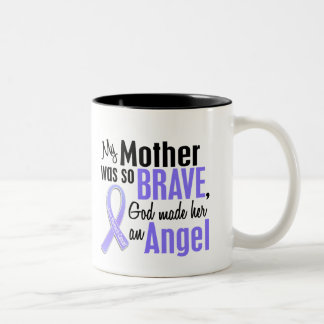 Angel 2 Mother Stomach Cancer Two-Tone Coffee Mug