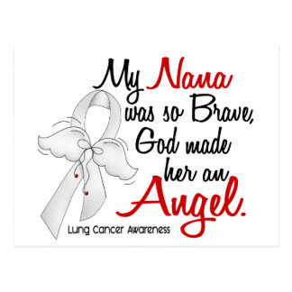 Angel 2 Nana Lung Cancer Postcard