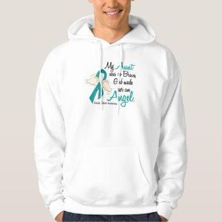 Angel 2 Ovarian Cancer Aunt Hoodie