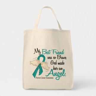 Angel 2 Ovarian Cancer Best Friend Tote Bag
