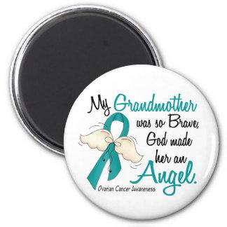 Angel 2 Ovarian Cancer Grandmother Magnet