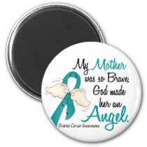 Angel 2 Ovarian Cancer Mother Magnet