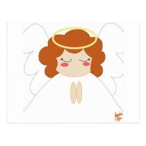 Angel 2 postcard