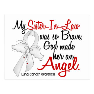 Angel 2 Sister-In-Law Lung Cancer Postcard