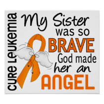 Angel 2 Sister Leukemia Poster