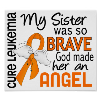 Angel 2 Sister Leukemia Posters