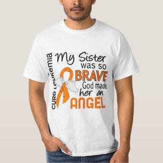 Angel 2 Sister Leukemia T-Shirt