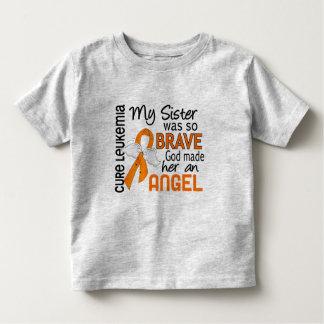 Angel 2 Sister Leukemia Toddler T-shirt