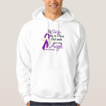 Angel 2 Sister Pancreatic Cancer Hoodie