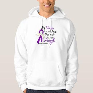 Angel 2 Sister Pancreatic Cancer Hoodie