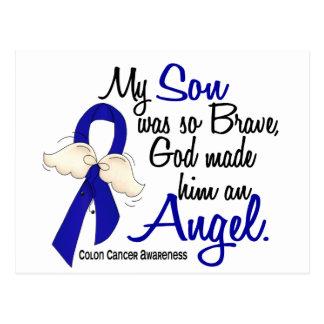 Angel 2 Son Colon Cancer Postcard